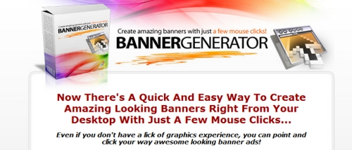 Product picture Banner Generator